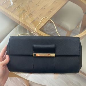 Calvin Klein Leather Black Clutch